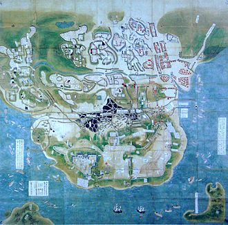 Shimabara Rebellion - Image: Siege of Hara castle