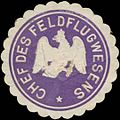 Siegelmarke Chef des Feldflugwesens W0378980.jpg