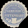 Siegelmarke Gemeinde Pittenhart K. Bayern W0392365.jpg