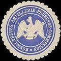 Siegelmarke K.Pr. Artillerie-Prüfungs-Commission W0354062.jpg