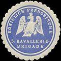 Siegelmarke K.Pr. Kavaleriebrigade W0348253.jpg