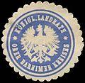 Siegelmarke K. Landrat Ober Barnimer Kreises W0387677.jpg