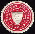 Siegelmarke Magistrat der Stadt - Penzlin W0232647.jpg