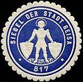 Siegelmarke Siegel der Stadt Geisa W0310353.jpg