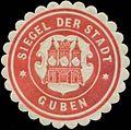 Siegelmarke Siegel der Stadt Guben W0348948.jpg