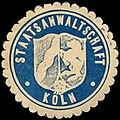 Siegelmarke Staatsanwaltschaft - Köln W0239588.jpg