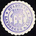 Siegelmarke Stadtrat - Landsberg am Lech W0229171.jpg