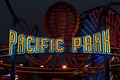 "Sign ""Pacific Park"" at the Santa Monica Pier in Santa Monica, California LCCN2013632362.tif"