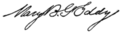 Signature of Mary Baker Eddy.png