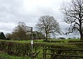 Signpost near Prestbury - geograph.org.uk - 158300.jpg