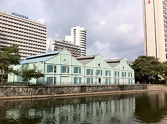 Robertson Quay - Image: Singapore Robertsons Quay Warehouses
