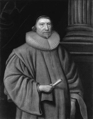 Robert Hitcham - Portrait of Sir Robert Hitcham belonging to the National Portrait Gallery, and on display in the Royal Courts of Justice