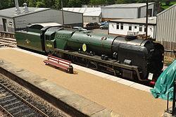Sir Archibald Sinclair at Sheffield Park railway station (2306).jpg