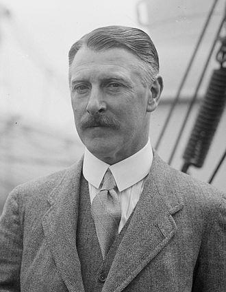 Cecil Chubb - Sir Cecil Chubb in May 1926 on board RMS Aquitania