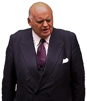 Peter Tapsell (British politician) - Image: Sir Peter Tapsell Cutout