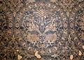 Siria, frammento di tessuto con scene di caccia, in seta, 790-810 dc ca (ascoli, museo diocesano) 03.jpg