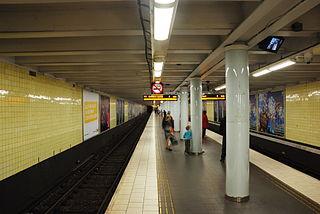 Skanstull metro station Stockholm Metro station