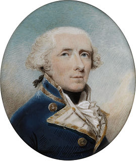 Royal Navy officer during the American War of Independence, French Revolutionary Wars and Napoleonic Wars, later an Admiral