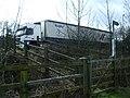 Sliproad, M6 motorway, Catthorpe Interchange - geograph.org.uk - 1775289.jpg
