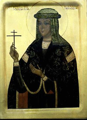 Sophia Olelkovich Radziwill - Saint Sophia