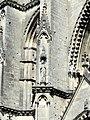 Soissons (02), abbaye Saint-Jean-des-Vignes, abbatiale, tour nord, 1er étage, niches à statues à l'angle sud-ouest.jpg