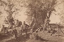Soldiers in Georgia during the Russo-Turkish war in 1878.jpg