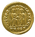 Solidus of Valentinian II (YORYM 1998 853) reverse.jpg