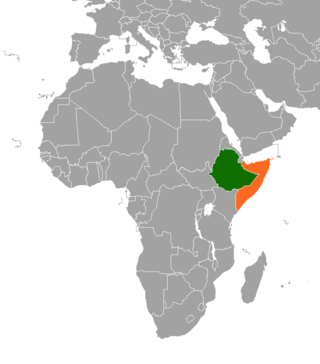 Diplomatic relations between the Federal Democratic Republic of Ethiopia and the Federal Republic of Somalia