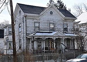 Elisha Hopkins House - Image: Somerville MA Elisha Hopkins House