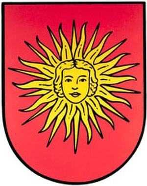 Wiesbaden-Sonnenberg - Image: Sonnenberg wappen