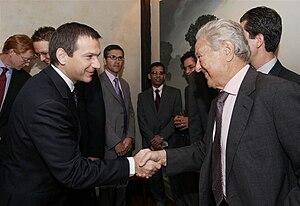 Bajnai has met George Soros in New York