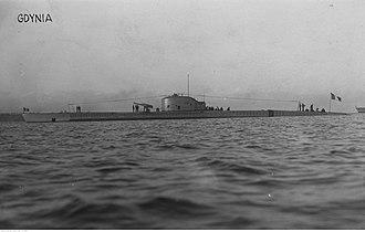 Requin-class submarine - Image: Souffleur (1924)