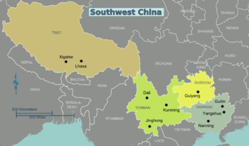 Southwest China – Travel guide at Wikivoyage