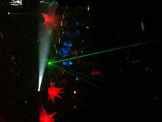 South Beach (nightclub) - Laser light show at South Beach