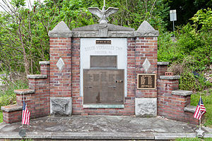 South Versailles Township, Allegheny County, Pennsylvania - Veterans Memorial in the village of Coulter