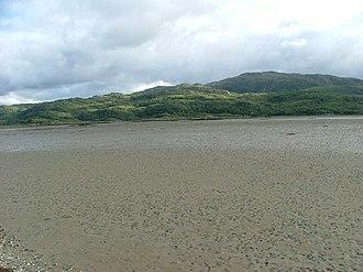 Kentra Bay - Image: South across the mud of Kentra Bay geograph.org.uk 1401567