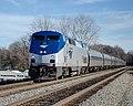 Southbound Palmetto arriving at Fredericksburg station, December 2018.jpeg