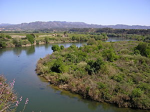 Spain Ebre river in Miravet.jpg