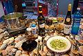 Spargelsuppe (asparagus soup) + Wein.jpg