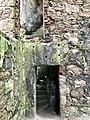 Spiral staircase inside New Slains Castle.jpg