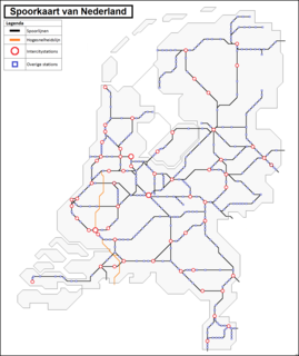 Railway stations in the Netherlands Wikipedia list article