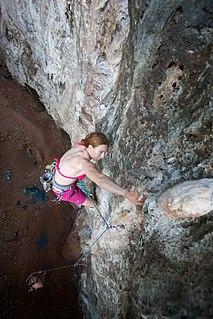 Sport climbing form of free climbing