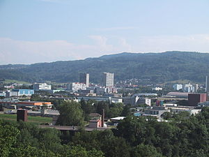 Spreitenbach - View from the north
