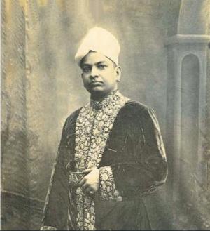 Sethu Lakshmi Bayi - Sri Rama Varma of Haripad, the consort of Sethu Lakshmi Bayi.