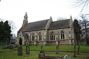Riseholme, Lincolnshire - Image: St.Mary's church, Riseholme, Lincs. geograph.org.uk 100249