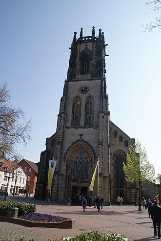 Oelde - St. Johannes church in Oelde