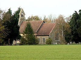 St. Mary's church at Little Finborough, Suffolk - geograph.org.uk - 279477.jpg