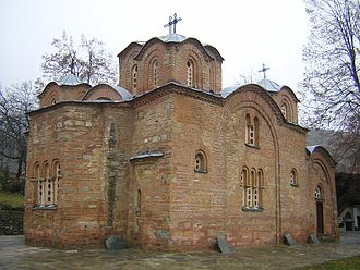 Church of St. Panteleimon (Gorno Nerezi) - Image: St. Pantelejmon Church 03