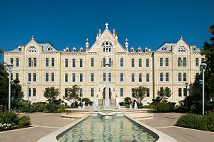 St. Mary's University, Texas - Image: St Louis Hall