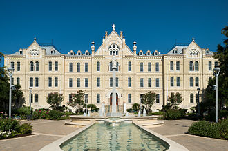 St. Mary's University, Texas - Image: St Louis Hall